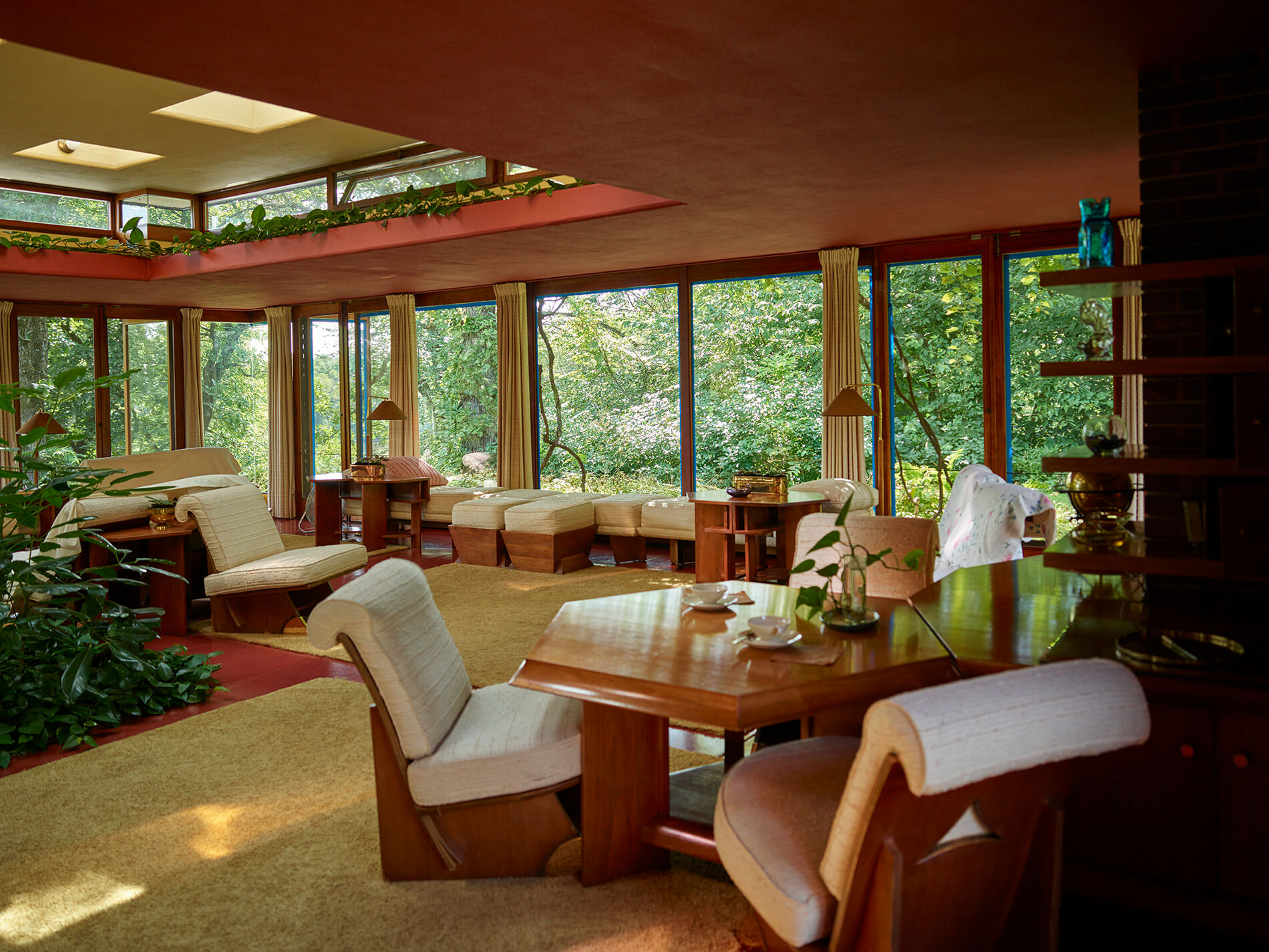 Upstate homes for sale frank lloyd wright 39 s usonian for Franks homes